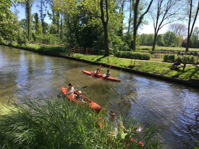 kano huren Utrecht Kromme Rijn