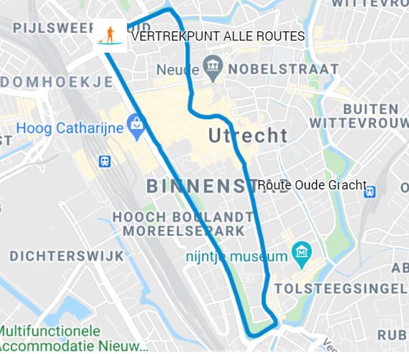 Route Oude gracht